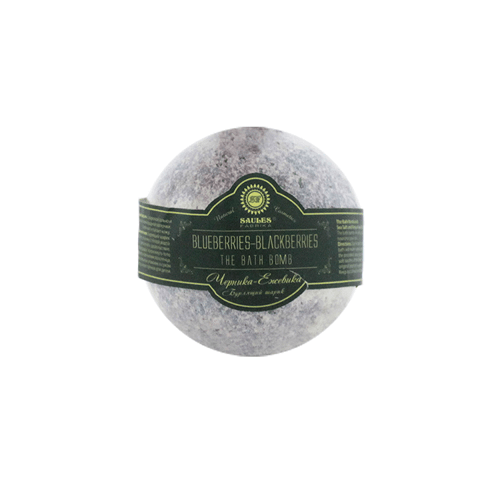 Saules Fabrika Vannipall Blueberries-Blackberries