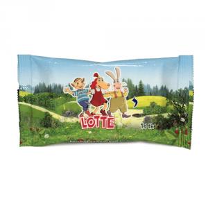 Lotte Niisked salvrätikud lastele Lotte 15 tk