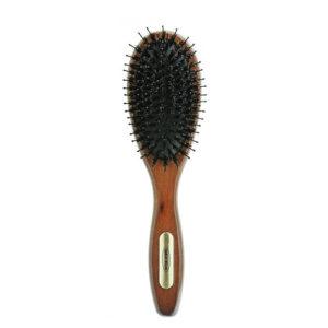 Деревянная расчёска с натуральной щетиной